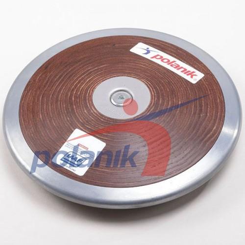 Диск соревновательный Polanik Plywood 1250 гр, код: HPD17-1,25