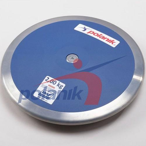 Диск соревновательный Polanik Plastic 2000 гр, код: CPD11-2