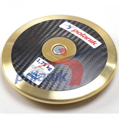 Диск соревновательный Polanik Full Carbon 1750 гр, код: CCD17-1,75