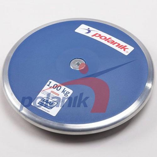 Диск соревновательный Polanik Plastic 1000 гр, код: CPD11-1