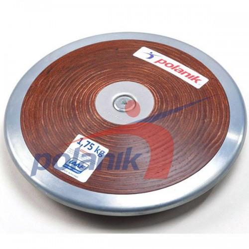Диск соревновательный Polanik Plywood 1750 гр, код: HPD17-1,75