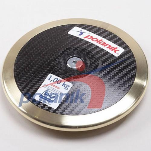 Диск соревновательный Polanik Full Carbon 1000 гр, код: CCD14-1