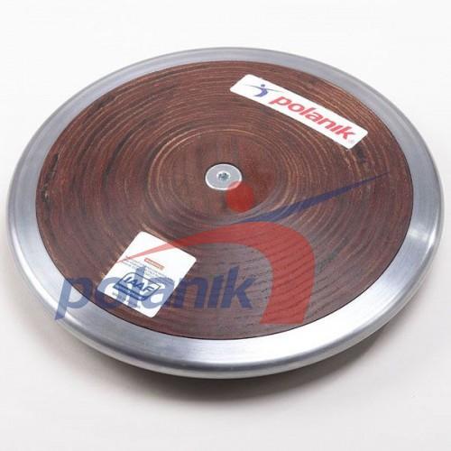 Диск соревновательный Polanik Plywood 1250 гр, код: HPD11-1,25