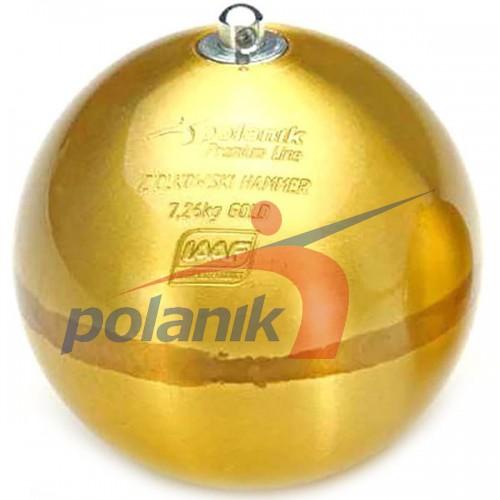 Молот Циолковского Polanik (золотой), код: ZH-7.26-G