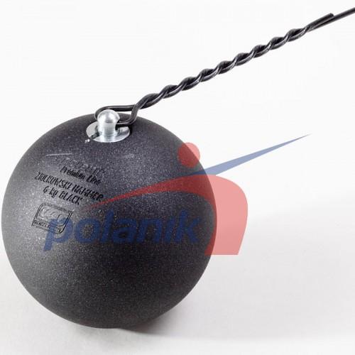 Молот соревновательный Polanik Ziolkowski Black 6 кг, код: ZH-6-B