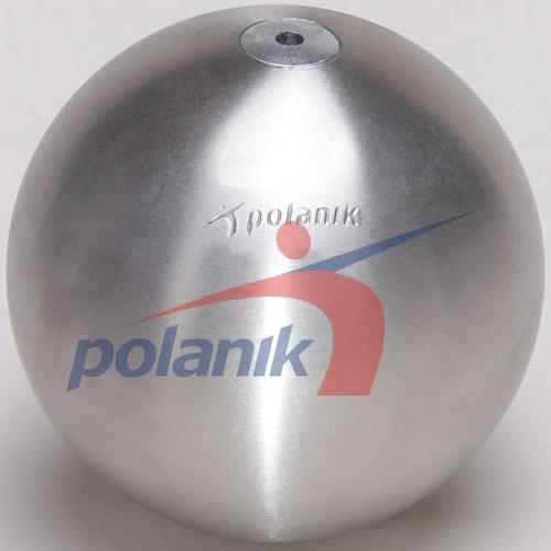 Ядро соревновательное Polanik Stainless 3 кг, код: PK-3/95-S