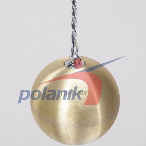 Молот соревновательный Polanik Brass 7,26 кг, код: PM-7,26/110-M