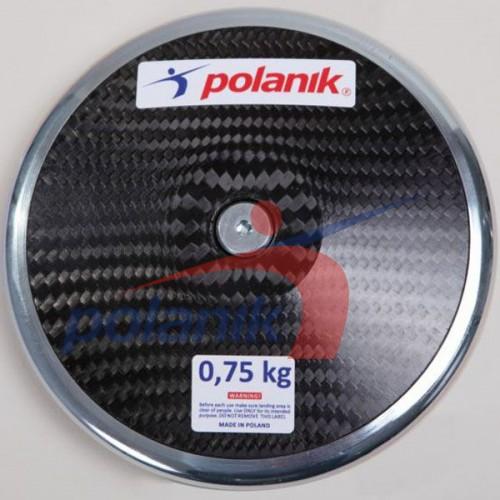 Диск соревновательный Polanik Full Carbon 750 гр, код: CCD14-0,75