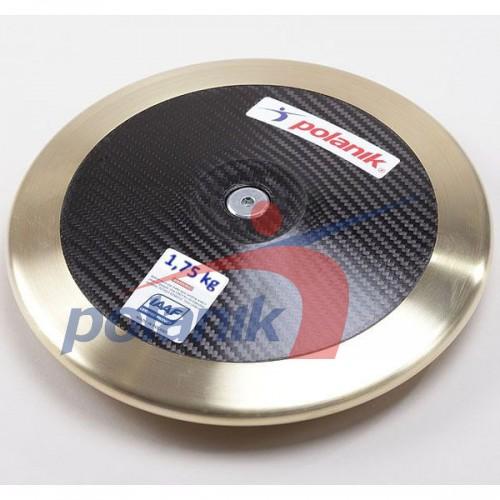 Диск соревновательный Polanik Full Carbon 1750 гр, код: CCD14-1,75