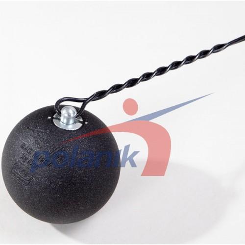 Молот соревновательный Polanik Premium Black 3 кг, код: PH-3-B