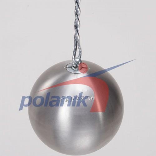 Молот соревновательный Polanik Stainless 7,26 кг, код: PM-7,26/110-S