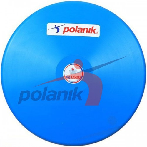 Диск тренировочный Polanik Trial 1500 гр, код: DSK-1,5-JB