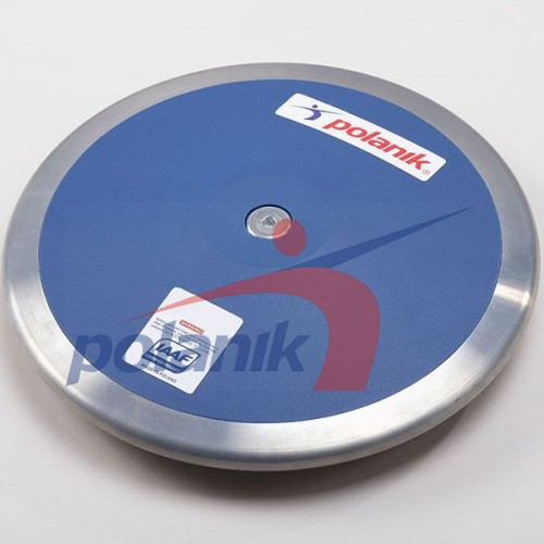 Диск соревновательный Polanik Plastic 1250 гр, код: CPD11-1,25