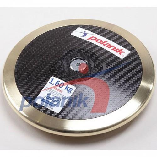 Диск соревновательный Polanik Full Carbon 1600 гр, код: CCD14-1,6