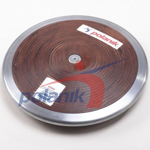 Диск соревновательный Polanik Plywood 750 гр, код: HPD11-0,75-R5