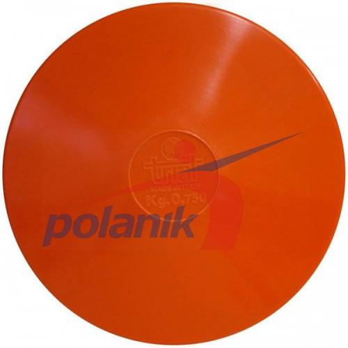 Диск тренировочный Polanik Trial 750 гр, код: DSK-0,75