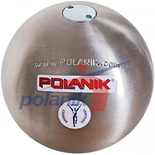 Ядро соревновательное Polanik Stainless 4 кг, код: PK-4/100-S