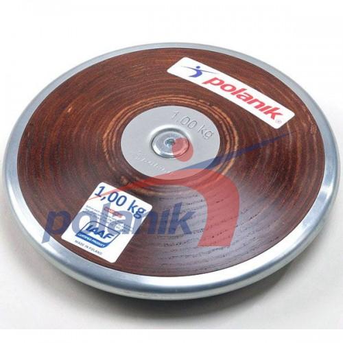 Диск соревновательный Polanik Plywood 1000 гр, код: HPD17-1